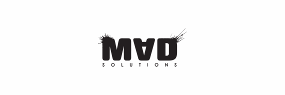 MAD Solutions Logo BLACK
