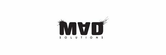MAD Solutions Logo BLACK